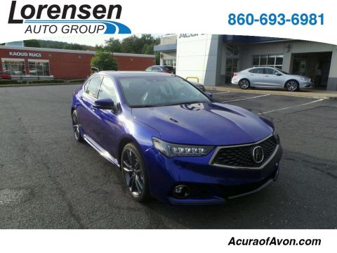 New 2018 Acura TLX 3.5 V-6 9-AT SH-AWD with A-SPEC With Navigation