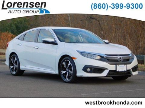 Pre-Owned 2016 Honda Civic 4dr CVT Touring