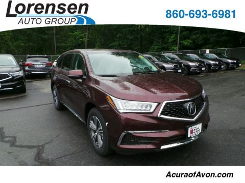 New 2017 Acura MDX SH-AWD All Wheel Drive SUV
