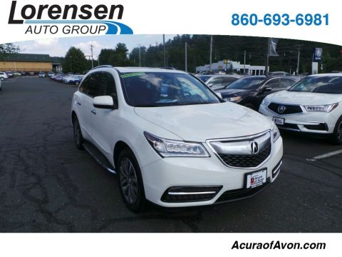 New 2016 Acura MDX SH-AWD with Technology Package With Navigation