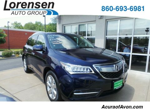 New 2016 Acura MDX SH-AWD with Advance Package With Navigation