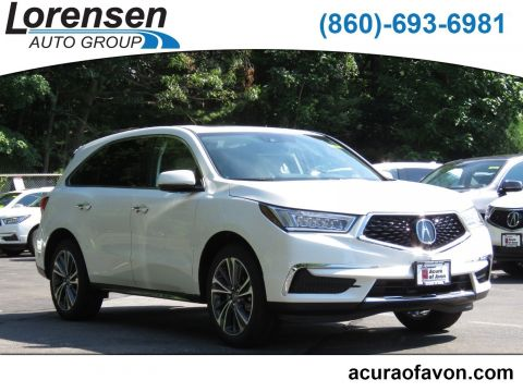 New 2019 Acura MDX AWD TECH 7P With Navigation