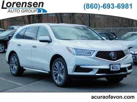 New 2018 Acura MDX SH-AWD with Technology and Entertainment Packages With Navigation