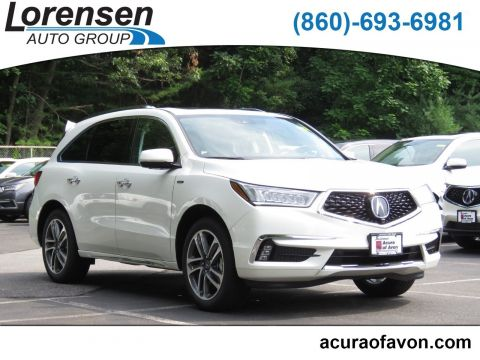 New 2018 Acura MDX Sport Hybrid SH-AWD with Advance Package