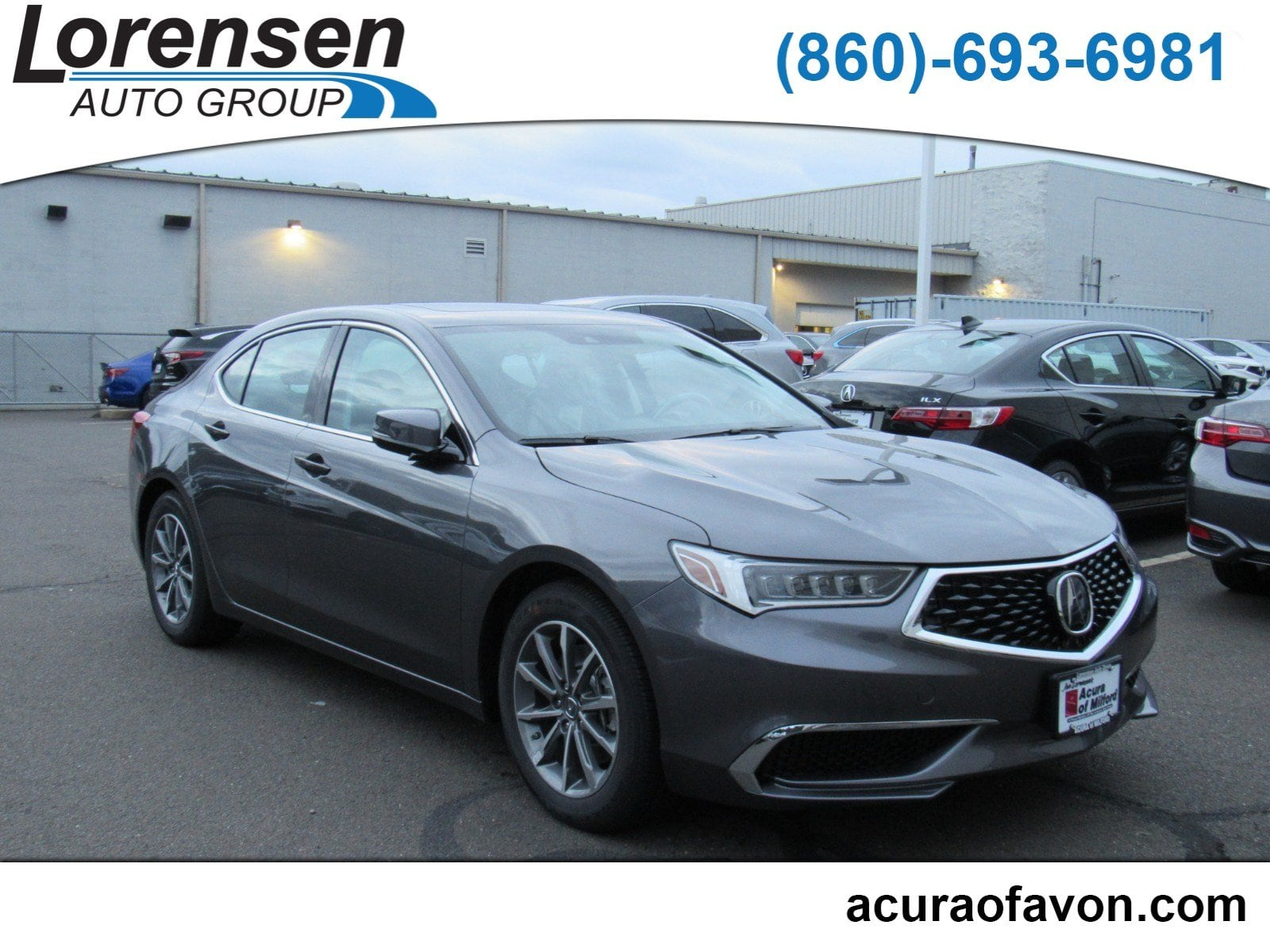 New 2019 Acura TLX 2 4 8 DCT P AWS Sedan in Canton S