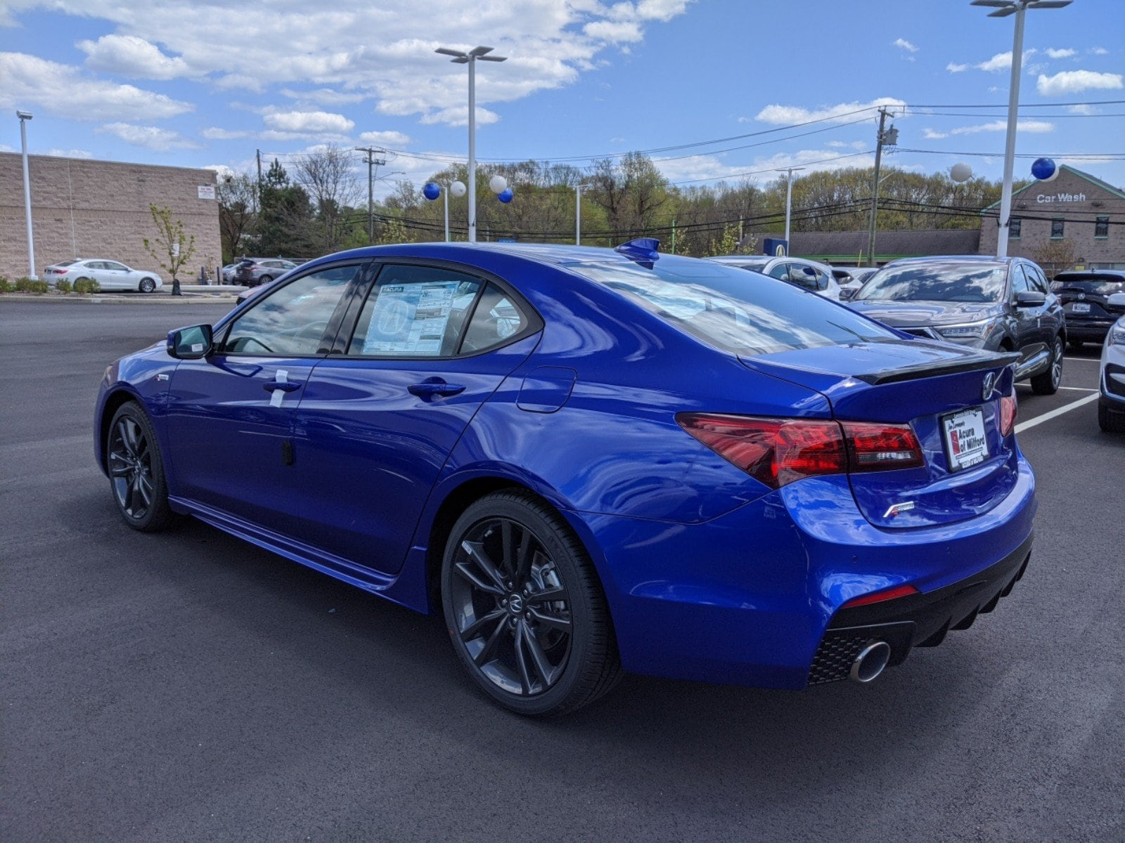 new 2020 acura tlx with a-spec package sedan in canton