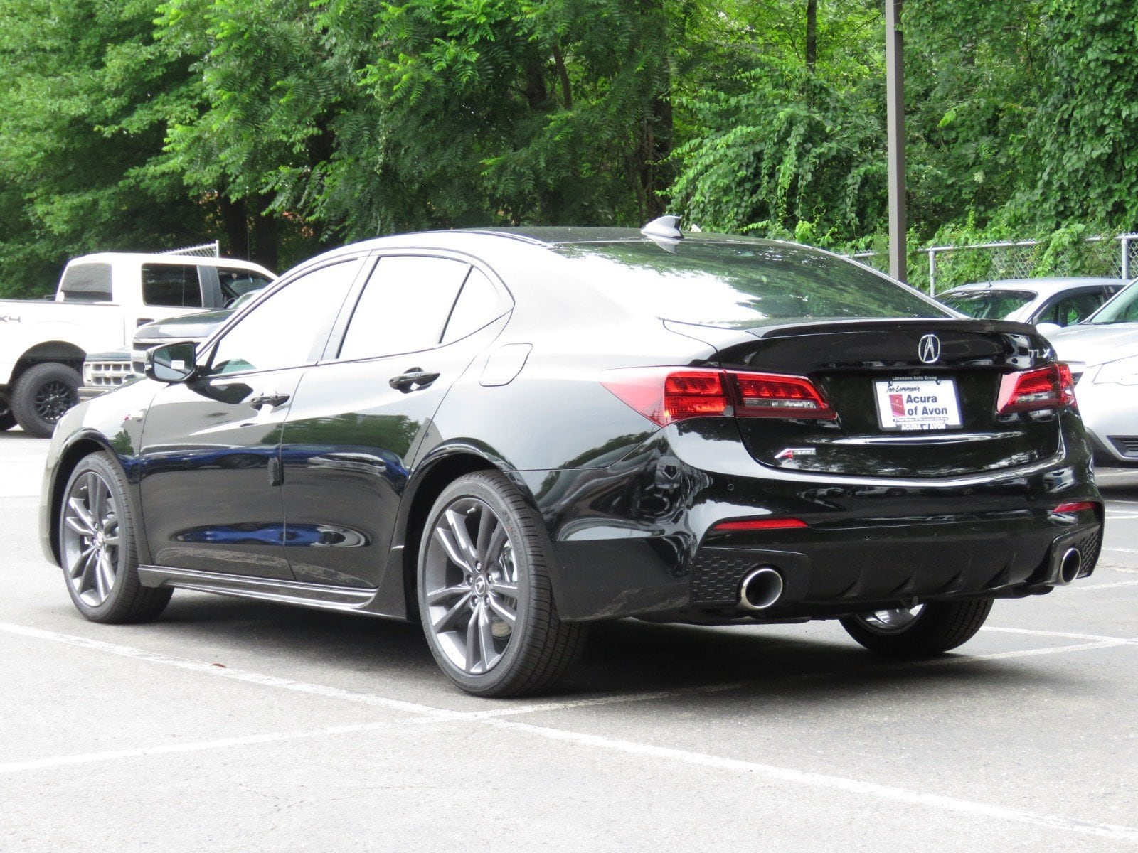 New 2019 Acura TLX 2 4 8 DCT P AWS with A SPEC Sedan in Canton