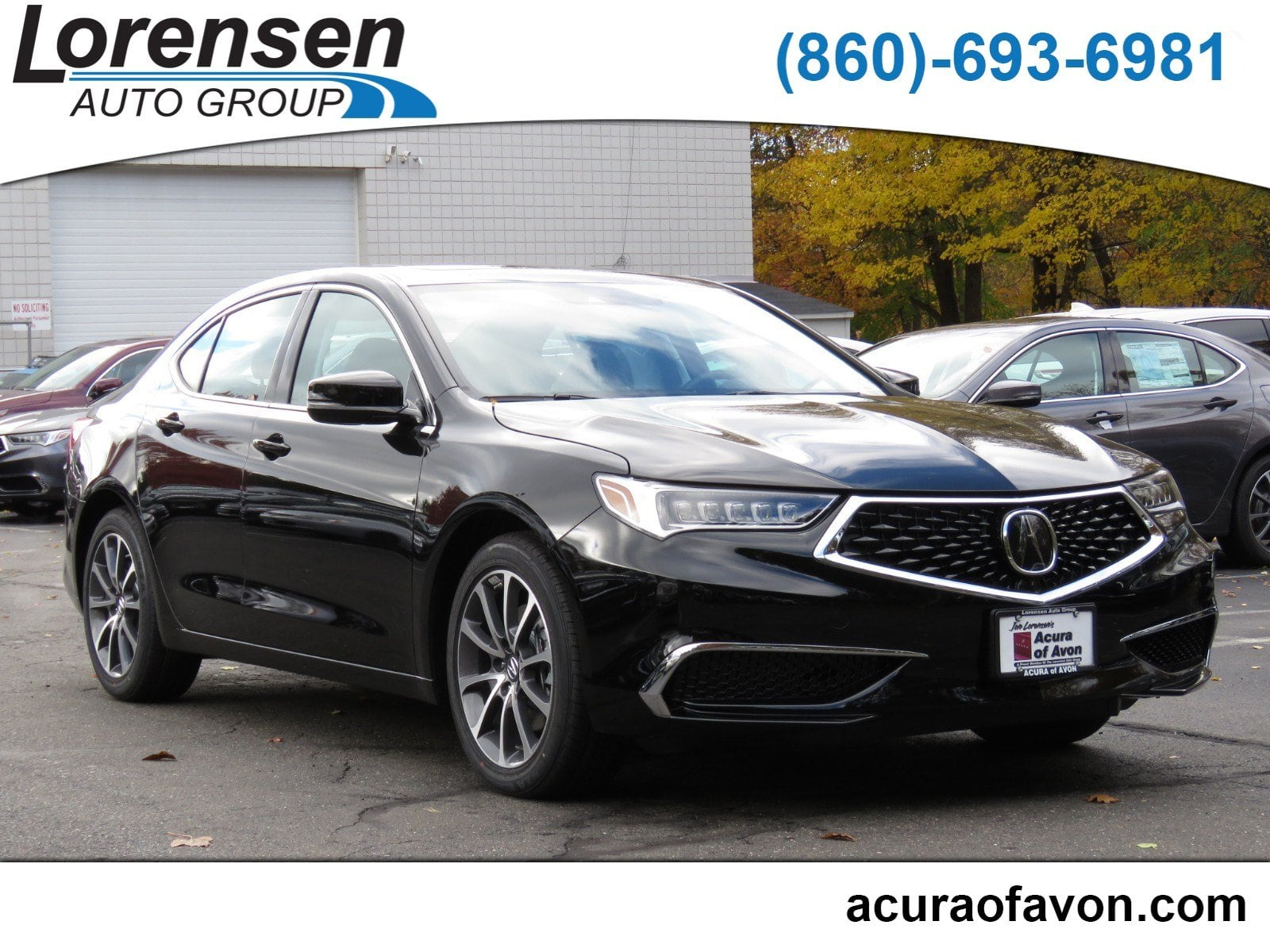 New 2019 Acura TLX 3 5 V 6 9 AT P AWS 3 5L FWD in Canton
