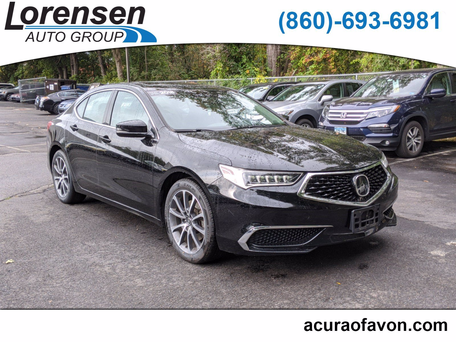 Certified Pre-Owned 2018 Acura TLX 3.5 V-6 9-AT P-AWS
