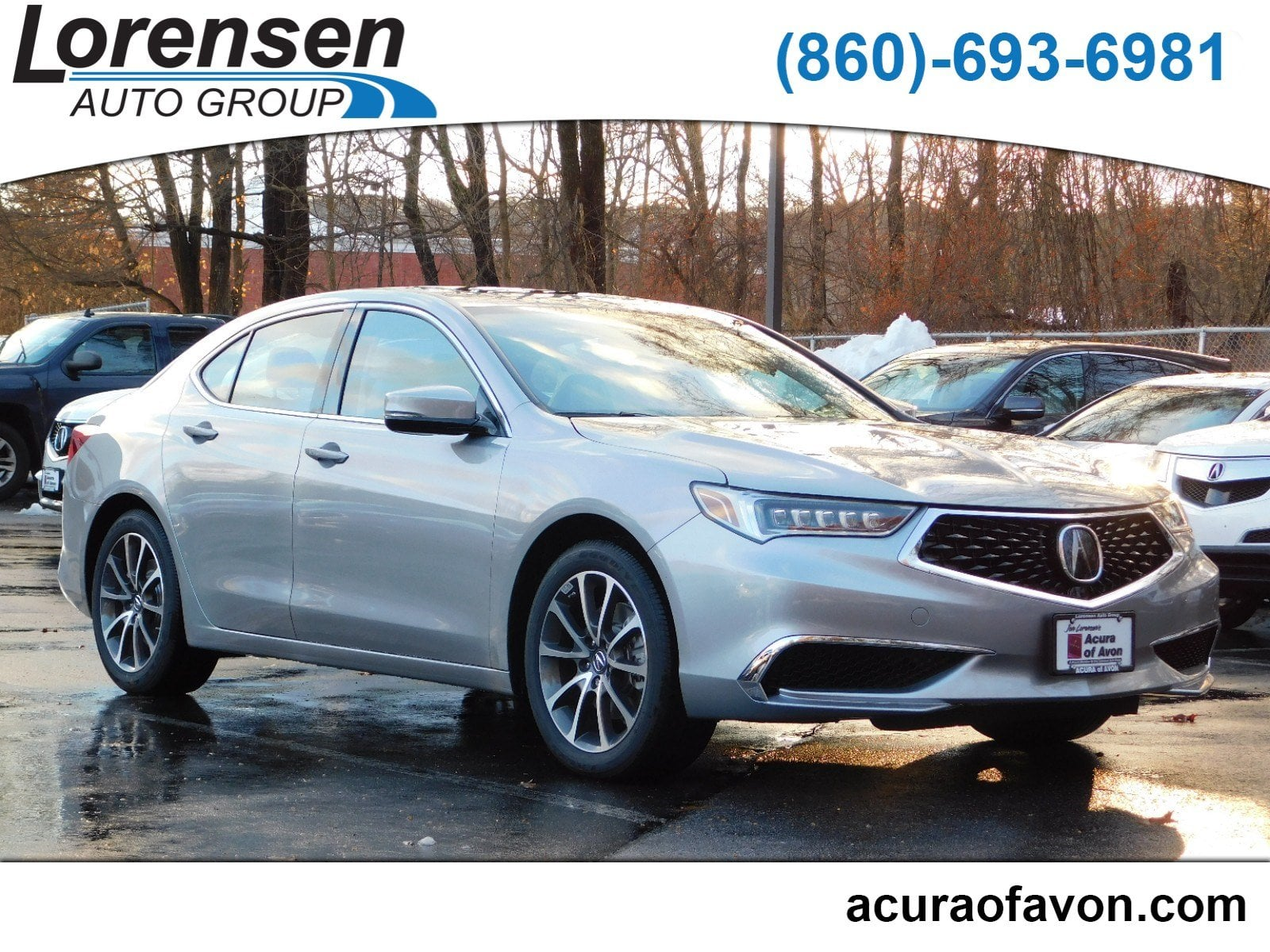 New 2019 Acura TLX 3 5 V 6 9 AT SH AWD Sedan in Canton
