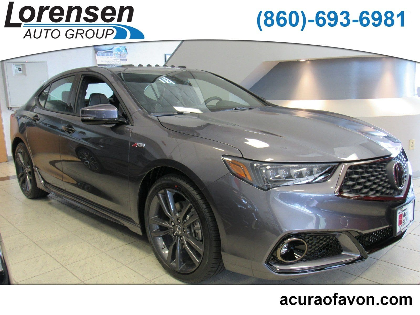 New 2019 Acura TLX 3 5 V 6 9 AT SH AWD with A SPEC Sedan in Canton