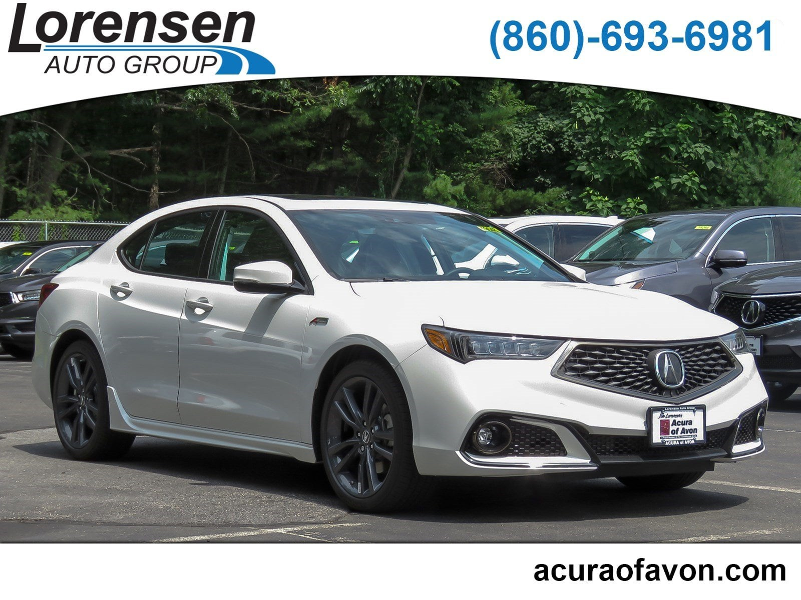 New 2019 Acura TLX 3 5 V 6 9 AT SH AWD with A SPEC 3 5L SH AWD w A