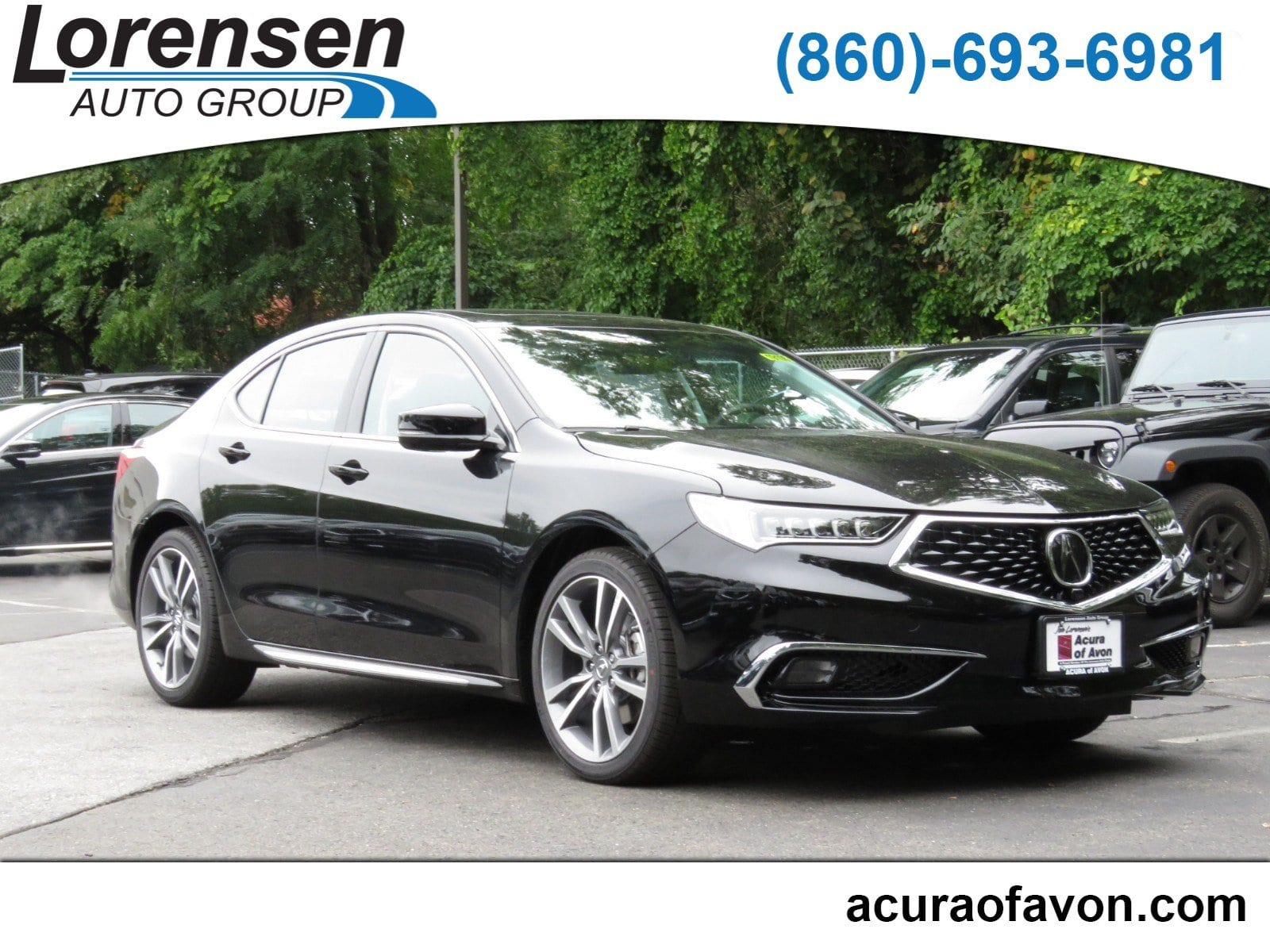 New 2019 Acura TLX 3 5 V 6 9 AT SH AWD with Advance Package Sedan in