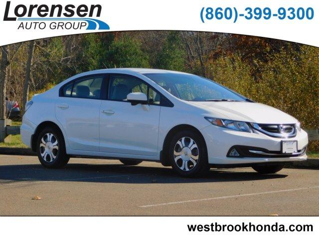Pre Owned 2017 Honda Civic Hybrid 4dr Sdn L4 Cvt