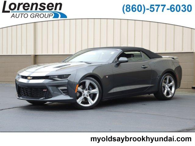 Pre-Owned 2018 Chevrolet Camaro 2dr Conv 1SS