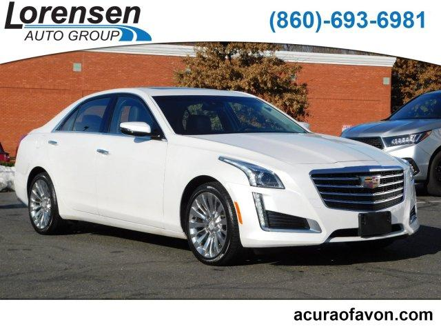 Pre-Owned 2018 Cadillac CTS 4dr Sdn 3.6L Luxury AWD