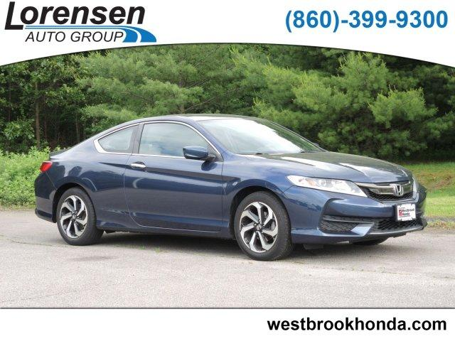 Pre-Owned 2016 Honda Accord 2dr I4 CVT LX-S