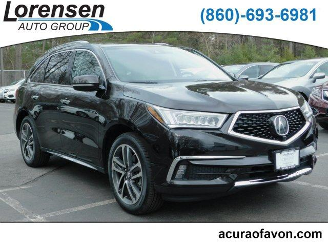Certified Pre Owned 2017 Acura Mdx Sh Awd With Advance And