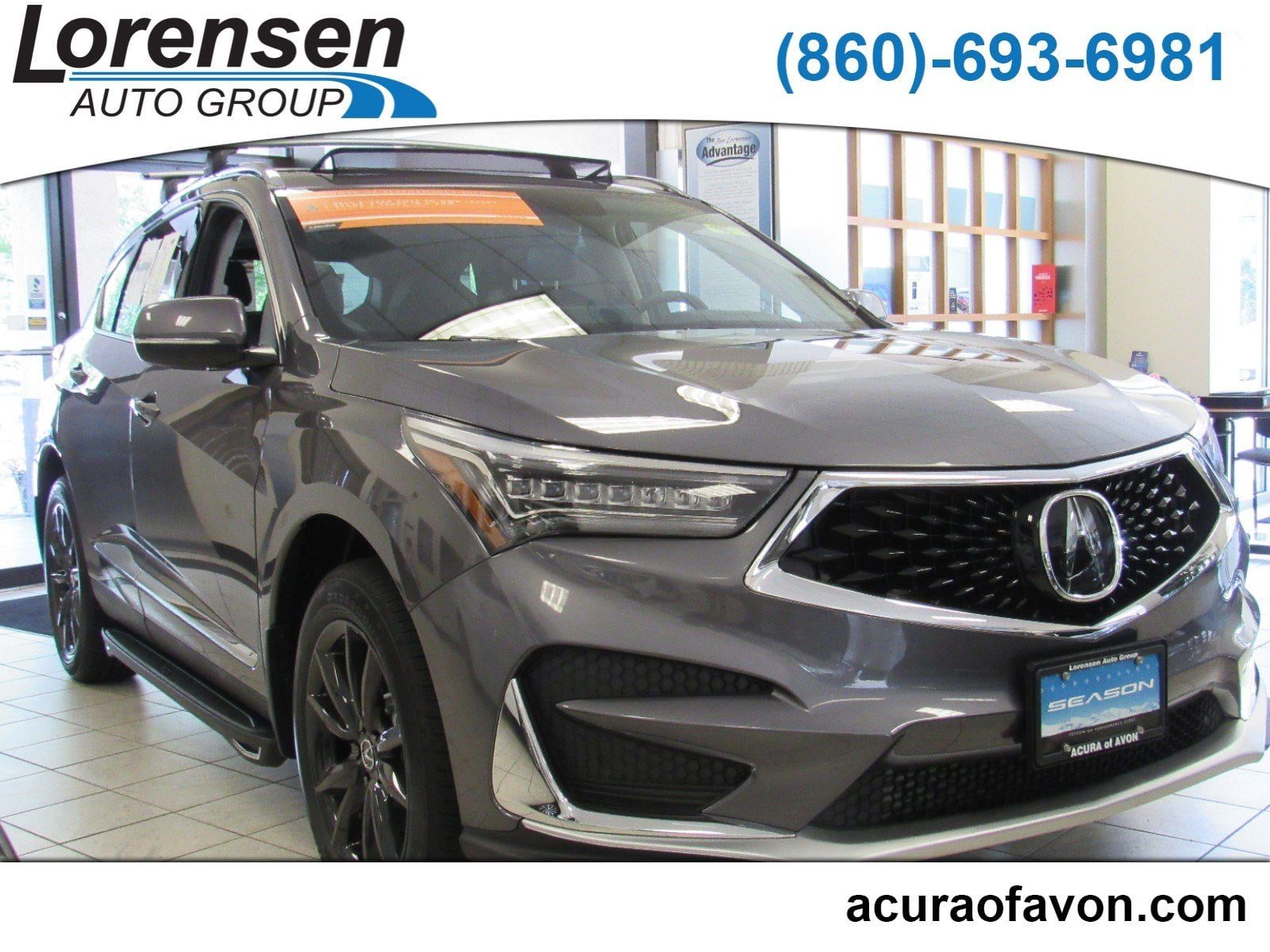 New 2019 Acura RDX SH AWD with Technology Package SUV in Canton