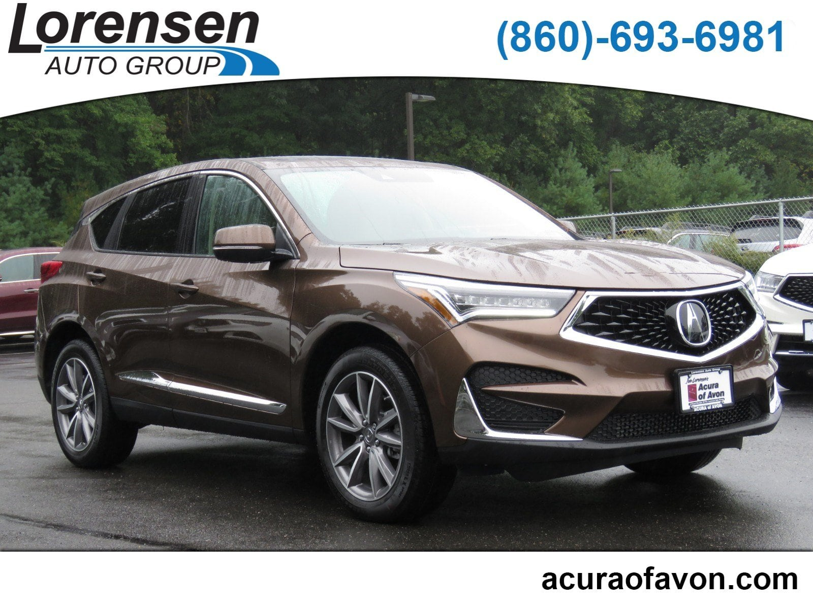 New 2019 Acura RDX SH AWD with Technology Package AWD w Technology