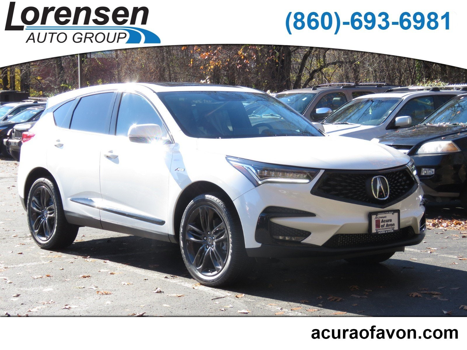New 2019 Acura RDX SH AWD with A Spec Package w A Spec Pkg AWD in