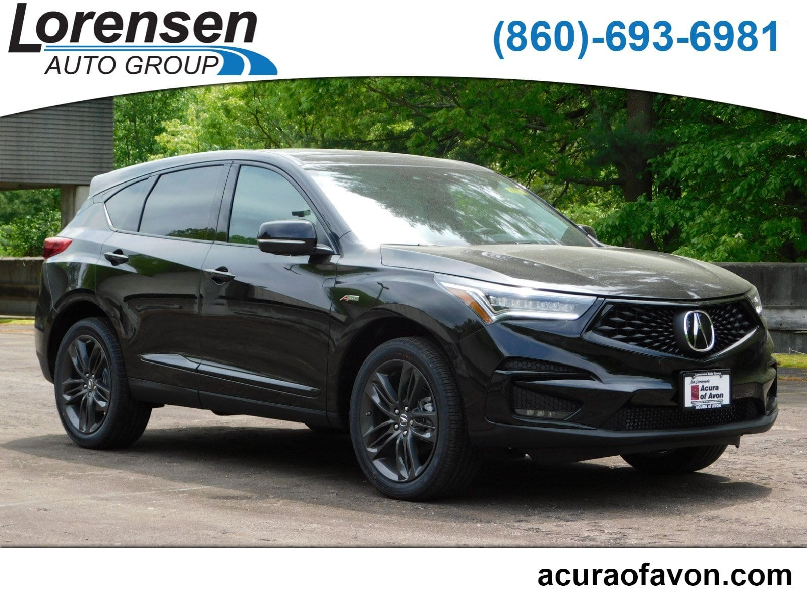 New 2020 Acura Rdx Sh Awd With A Spec Package Suv In Canton 20007