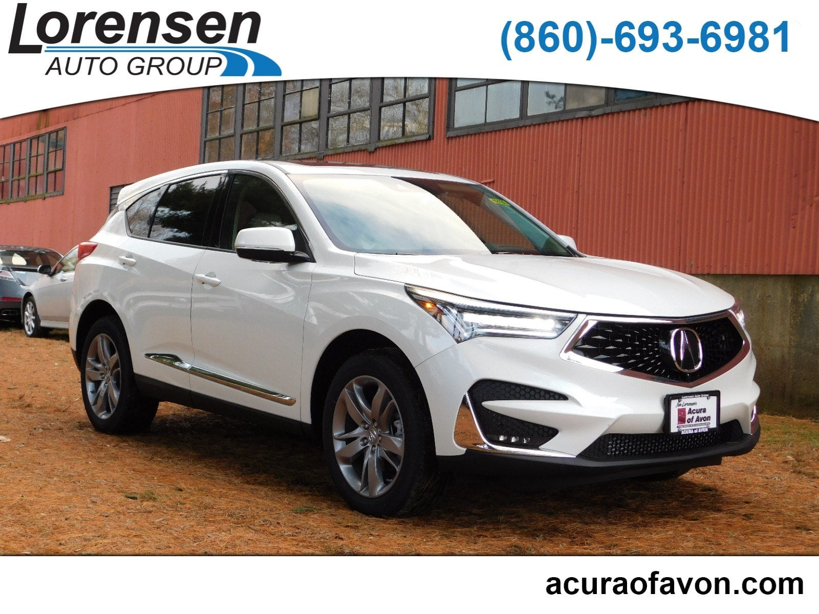 New 2019 Acura RDX SH AWD with Advance Package AWD w Advance Pkg in