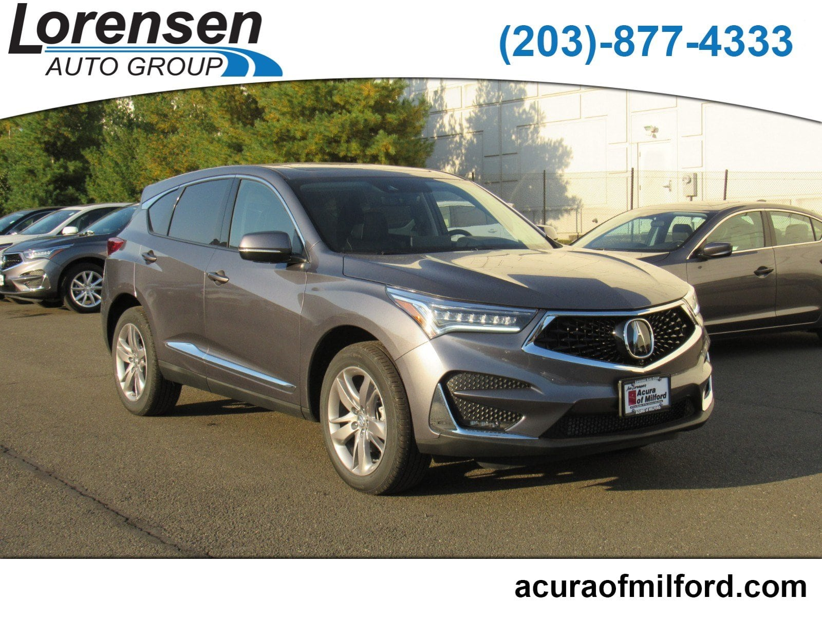 New 2019 Acura RDX SH AWD with Advance Package SUV in Canton