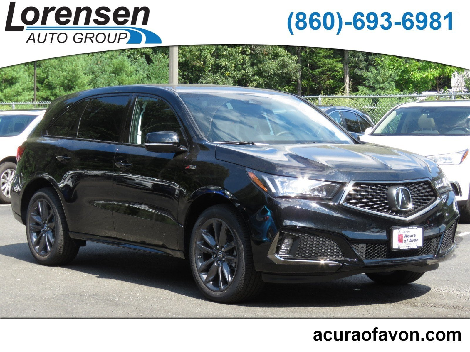 New 2019 Acura MDX SH AWD with A Spec Package SH AWD w Technology A