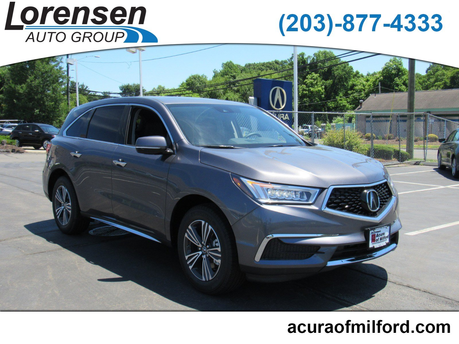 New 2018 Acura MDX SH AWD SH AWD in Canton