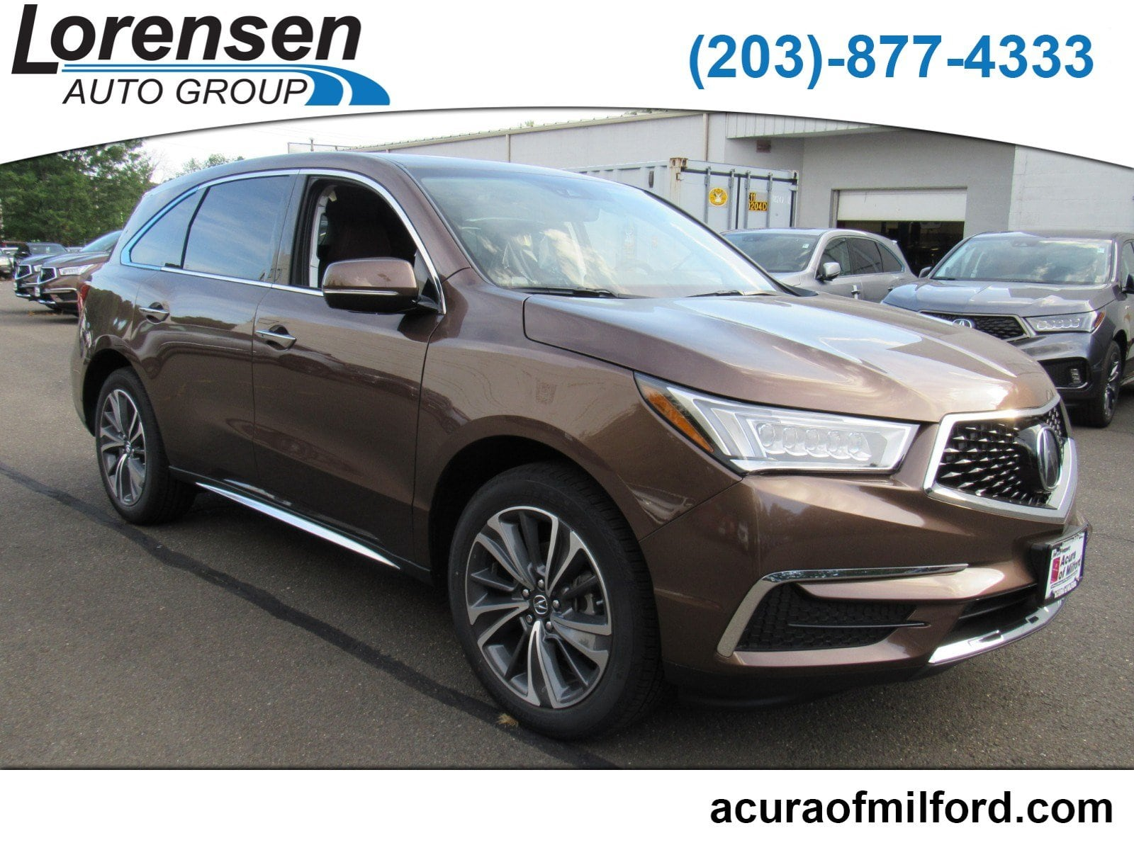 New 2019 Acura MDX SH AWD with Technology Package SUV in Canton
