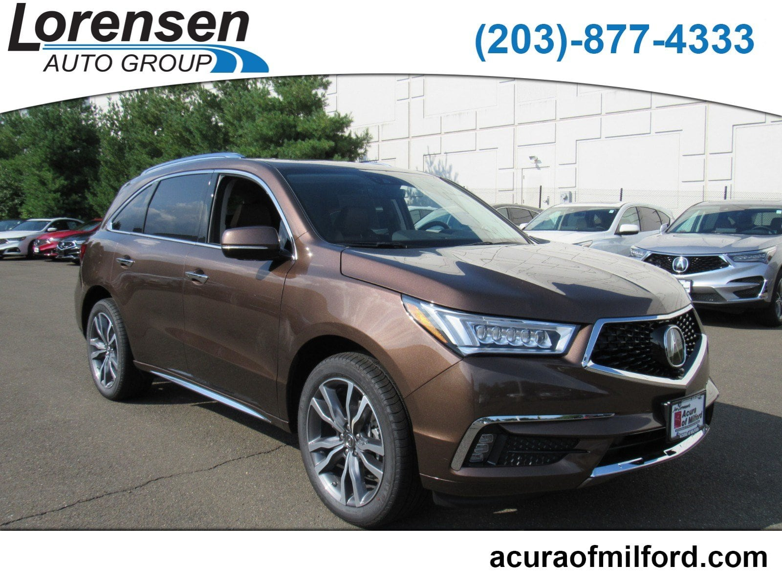 New 2019 Acura MDX SH AWD with Advance Package SH AWD w Advance Pkg