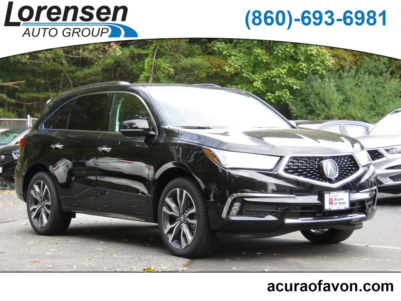 New 2019 Acura MDX SH AWD with Advance Package w Advance Pkg SH AWD