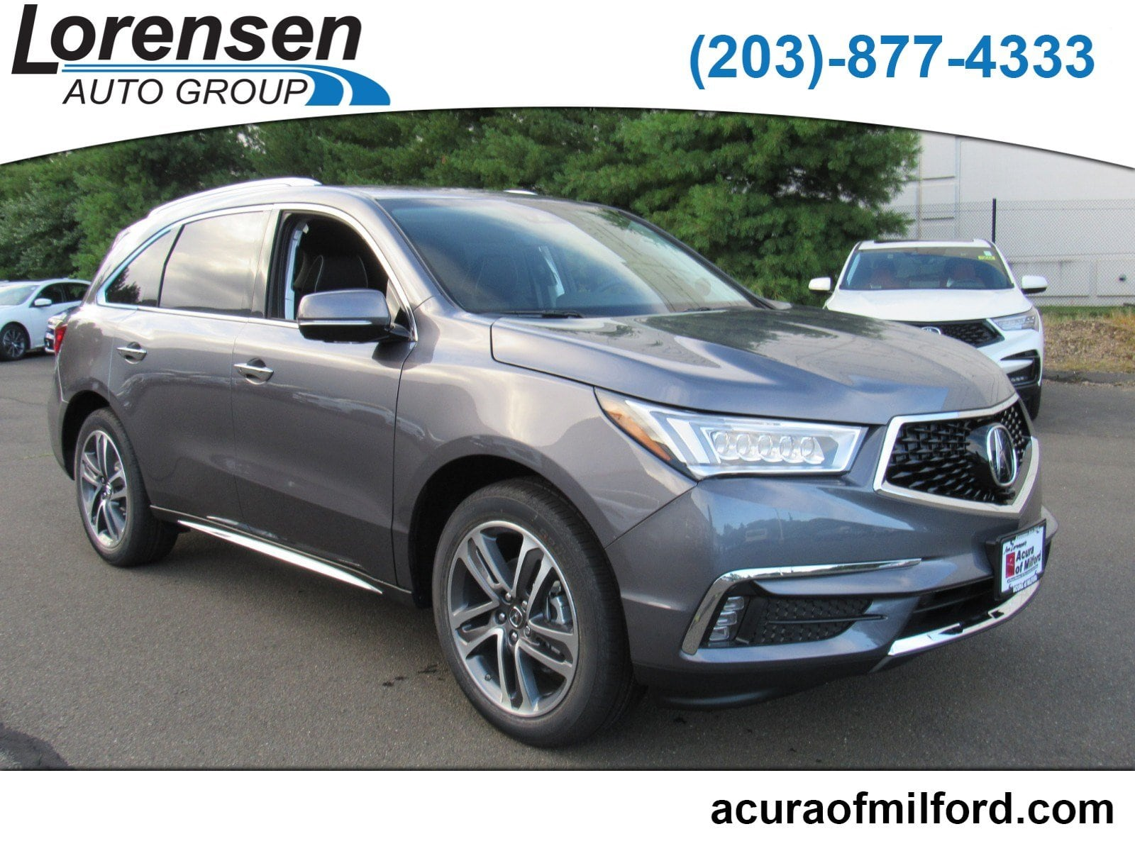 New 2018 Acura MDX SH AWD with Advance Package SUV in Canton