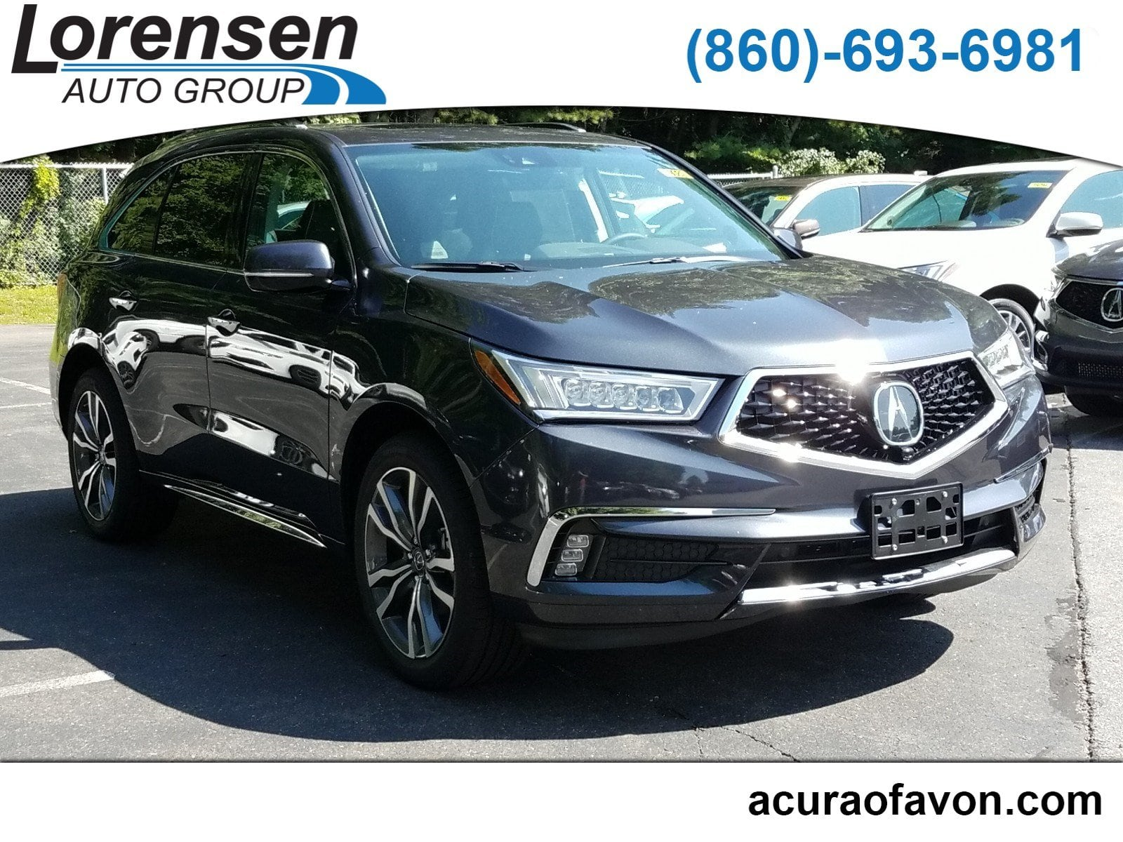 New 2019 Acura MDX AWD ADVANCE 7P ENTERTAINMENT SUV in Canton