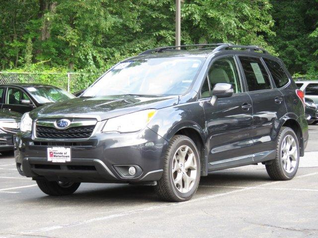 Pre-Owned 2015 Subaru Forester 4dr CVT 2.5i Touring PZEV