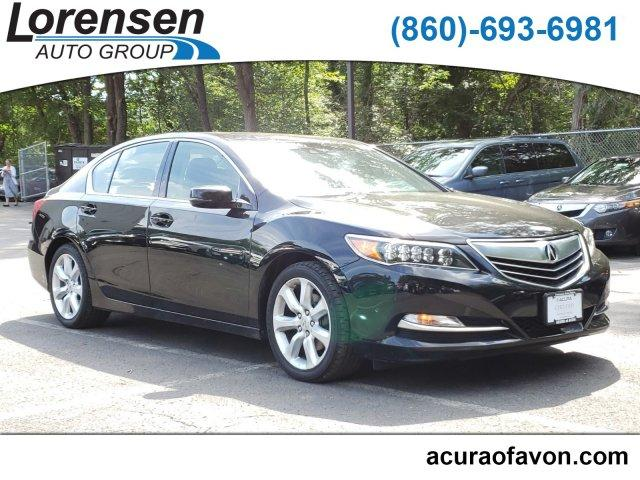 Pre-Owned 2014 Acura RLX 4dr Sdn Navigation