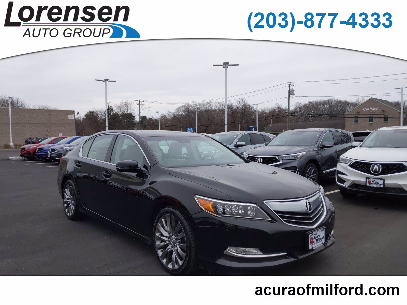 Pre-Owned 2017 Acura RLX w/Technology Pkg