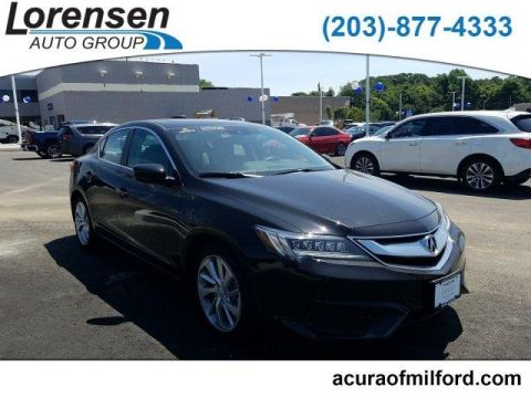 Pre-Owned 2018 Acura ILX Sedan w/Technology Plus Pkg