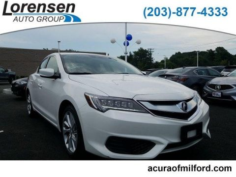 Pre-Owned 2017 Acura ILX Sedan w/Technology Plus Pkg