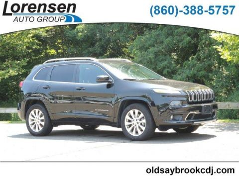 Pre-Owned 2017 Jeep Cherokee Overland 4x4