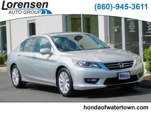 Pre-Owned 2015 Honda Accord 4dr I4 CVT EX