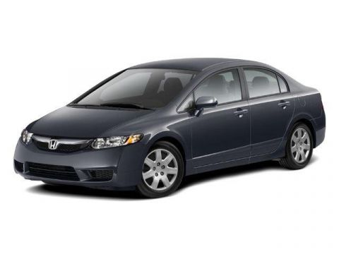 Pre-Owned 2010 Honda Civic 4dr Auto LX