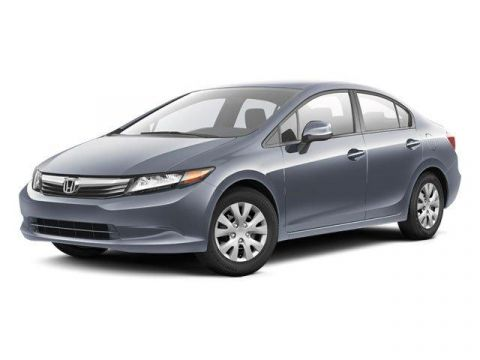 Pre-Owned 2012 Honda Civic 4dr Auto LX