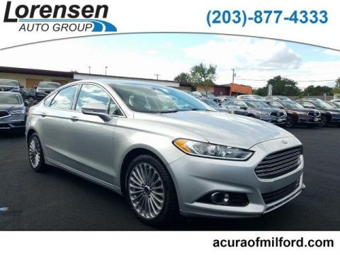 Pre-Owned 2014 Ford Fusion 4dr Sdn Titanium Hybrid FWD