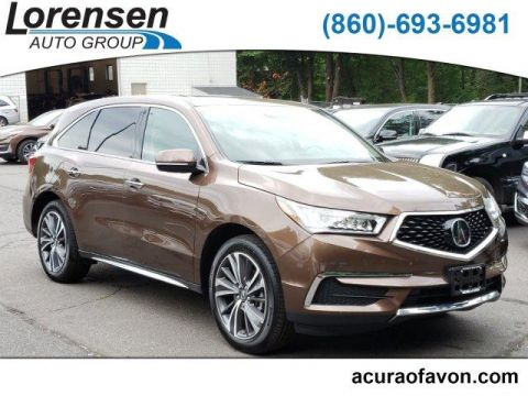 Certified Pre-Owned 2019 Acura MDX SH-AWD with Technology Package