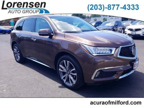 Pre-Owned 2019 Acura MDX SH-AWD w/Advance Pkg